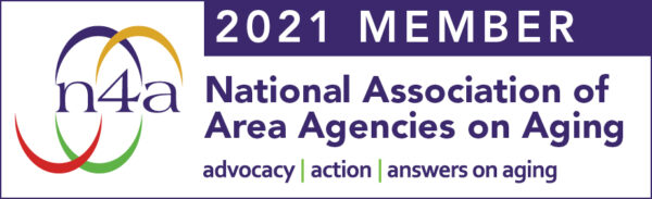 2021 Member of the National Association of Area Agencies on Aging banner