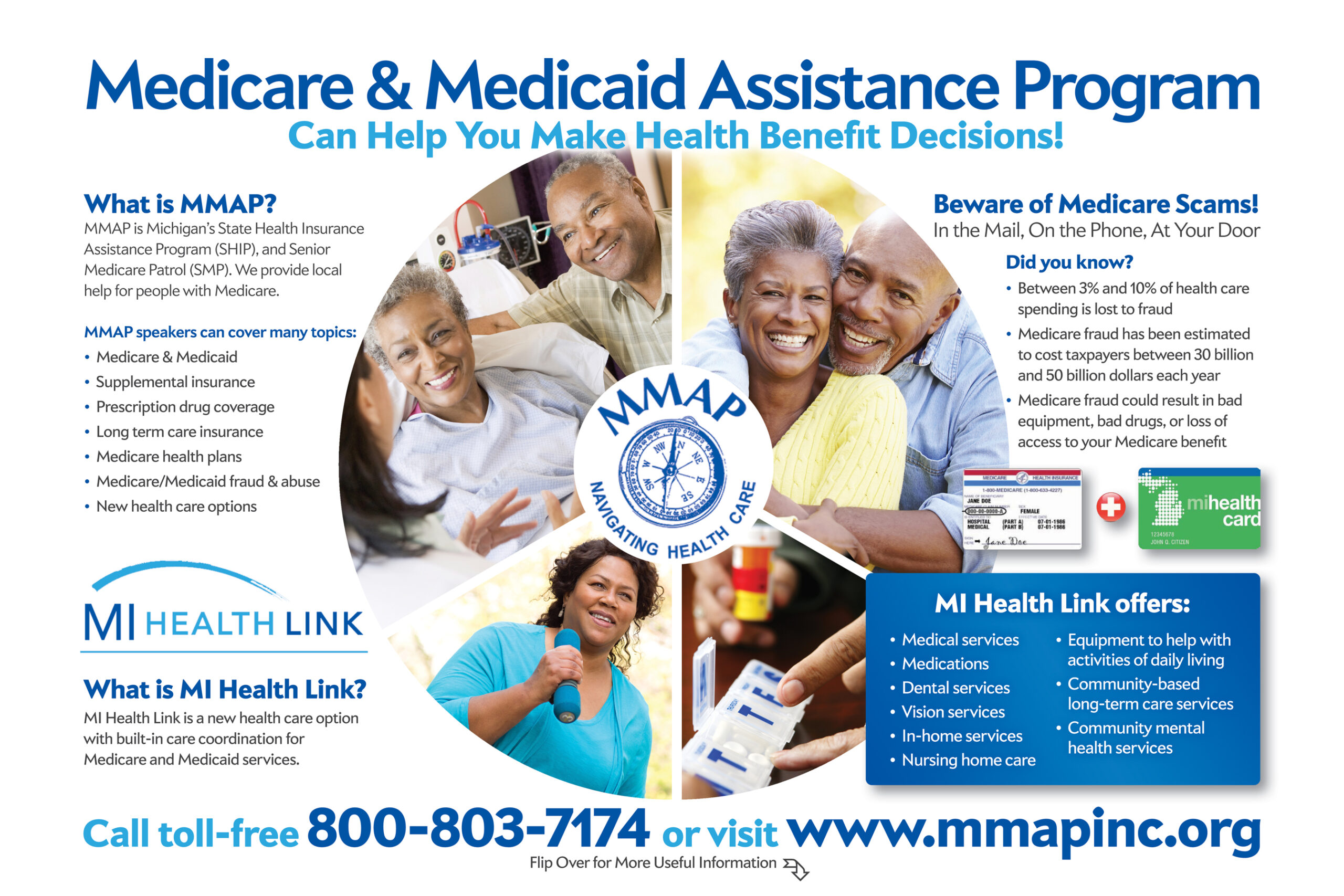 Medicare & Medicaid Assistance Program information graphic