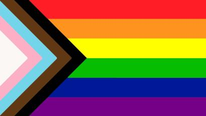 LBGT rainbow flag